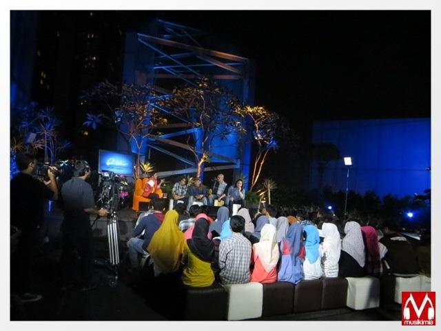 Suasana taping Musikimia di NET Tv